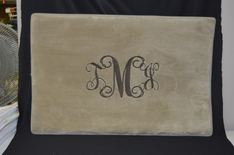 Embroidery Monogram Created By Embroider It In Columbia Mo 2